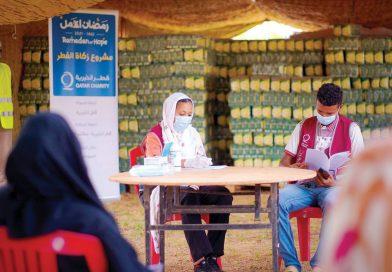 تستهدف 456,700 شخص.. قطر الخيرية توزع زكاة الفطر في 32 دولة