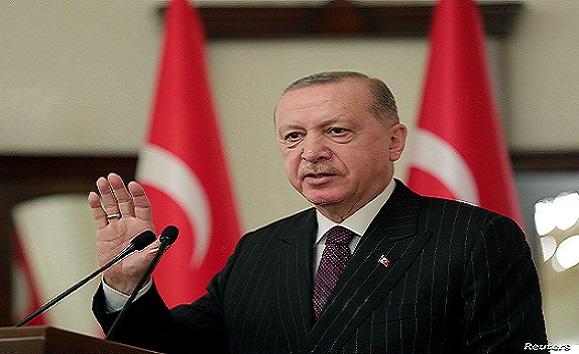 اردوغان لسعيّد : استمرار عمل البرلمان التونسي مصدر الهام للتحول الديمقراطي في المنطقة